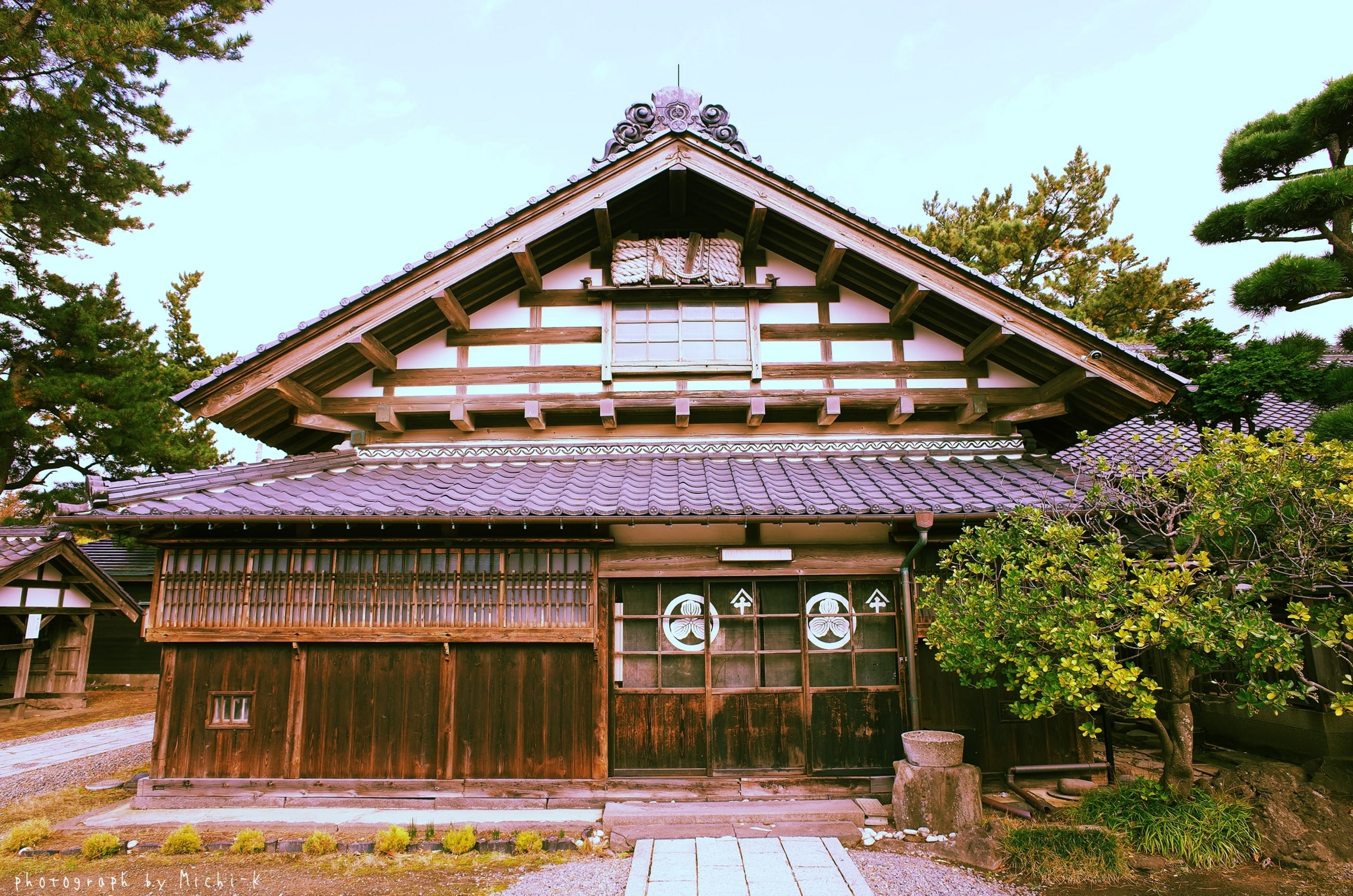山形県遊佐町・旧青山本邸2
