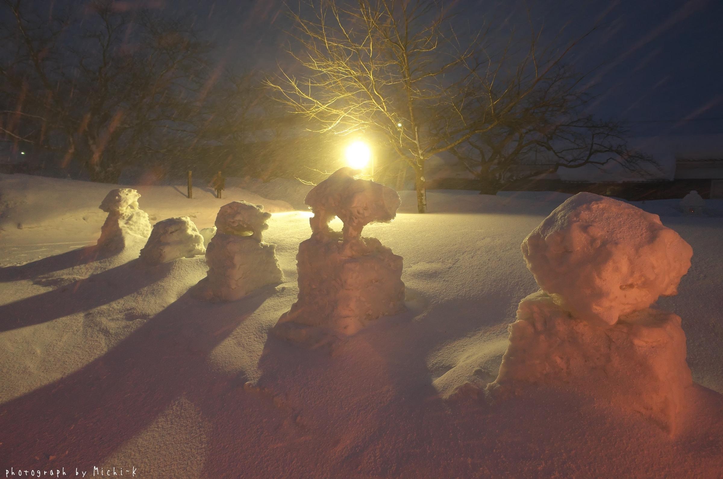 鶴岡市松ヶ丘雪灯篭まつり2018-2-18その5