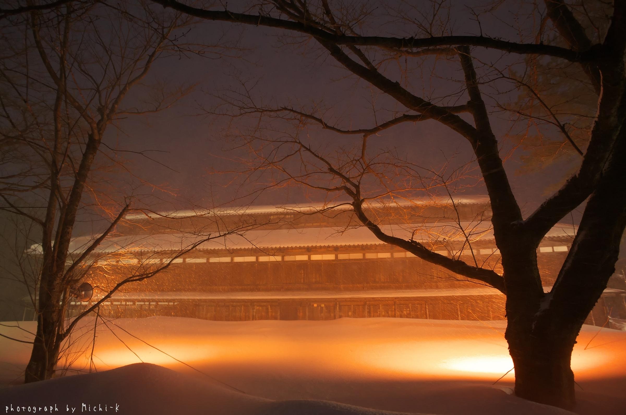 鶴岡市松ヶ丘雪灯篭まつり2018-2-18その6