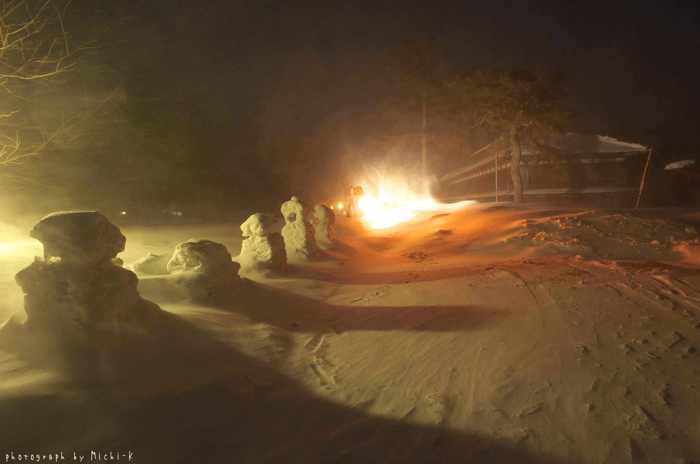 鶴岡市松ヶ丘雪灯篭まつり2018-2-18その8