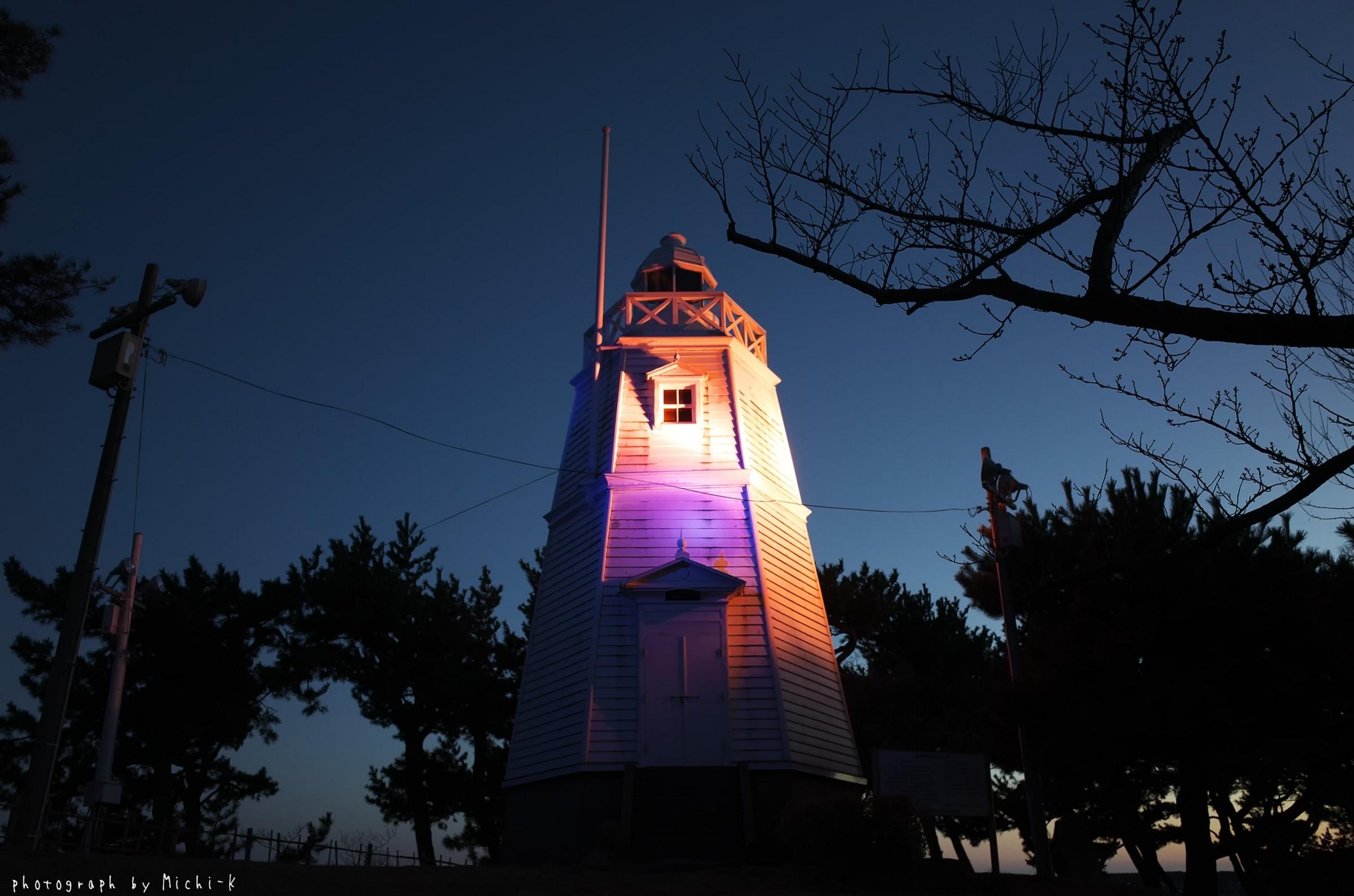 酒田市・日和山六角灯台(その4)