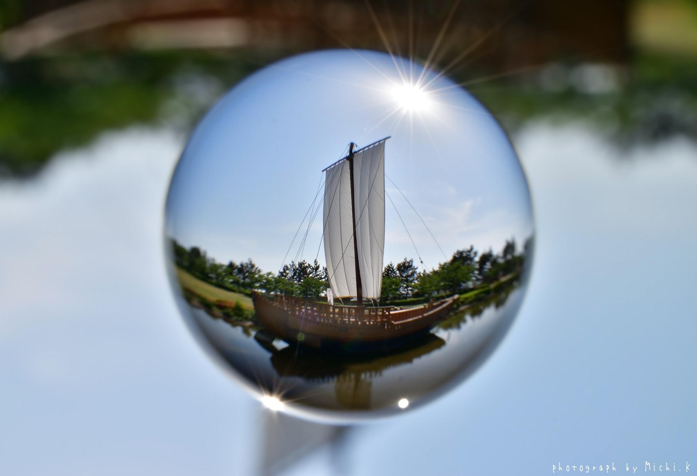 日和山公園・千石船-宙玉(そらたま)その3