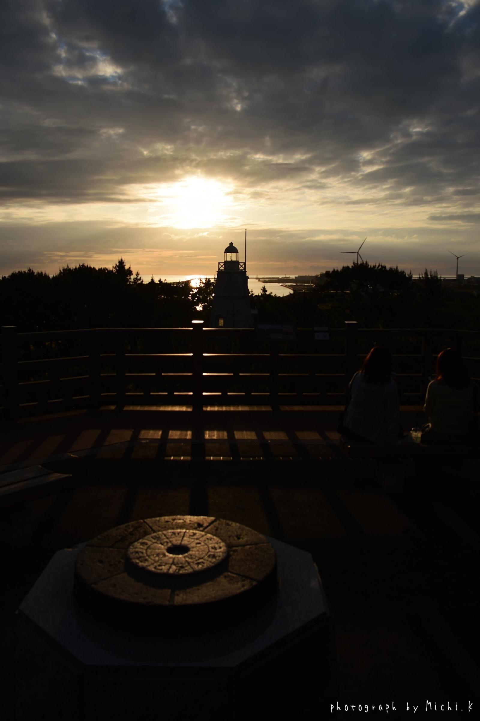 酒田市・日和山六角灯台(その1)