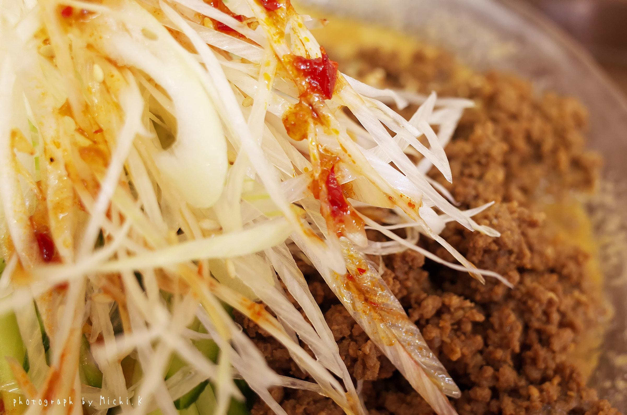 道の駅ふらっとの冷やしごまみそ担々麺(写真その2)