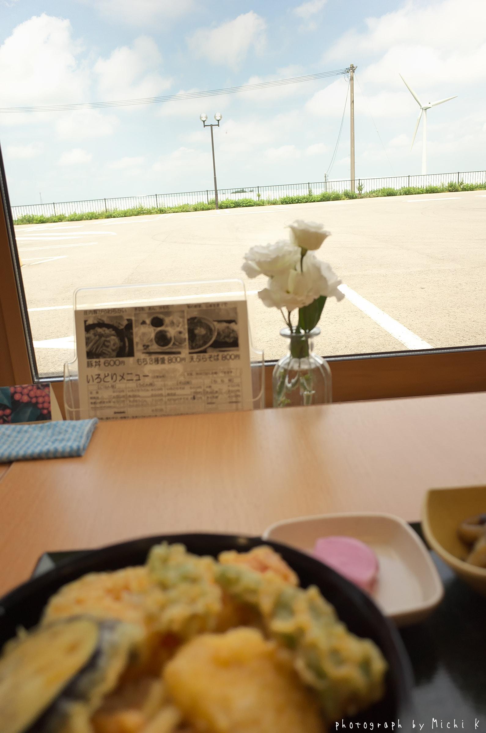 道の駅しょうないの野菜天丼(写真その1)