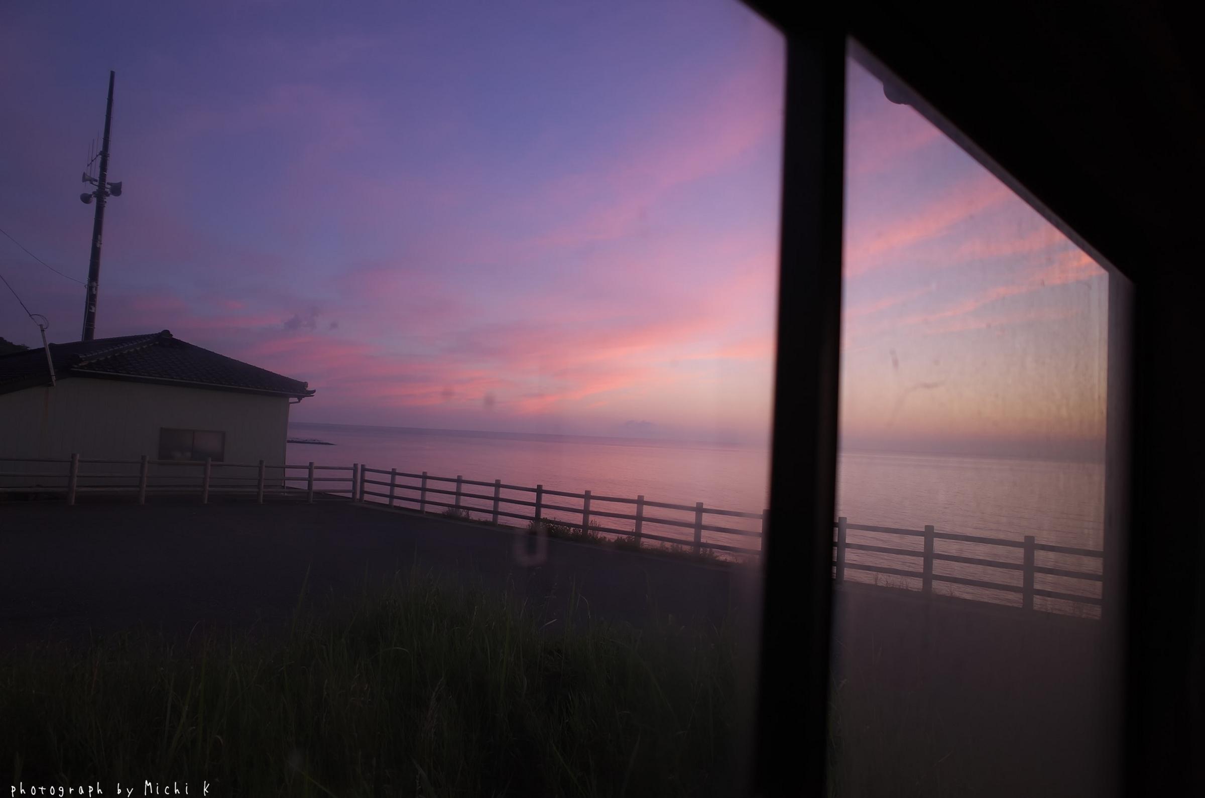 海沿いのバス停から(写真その2)