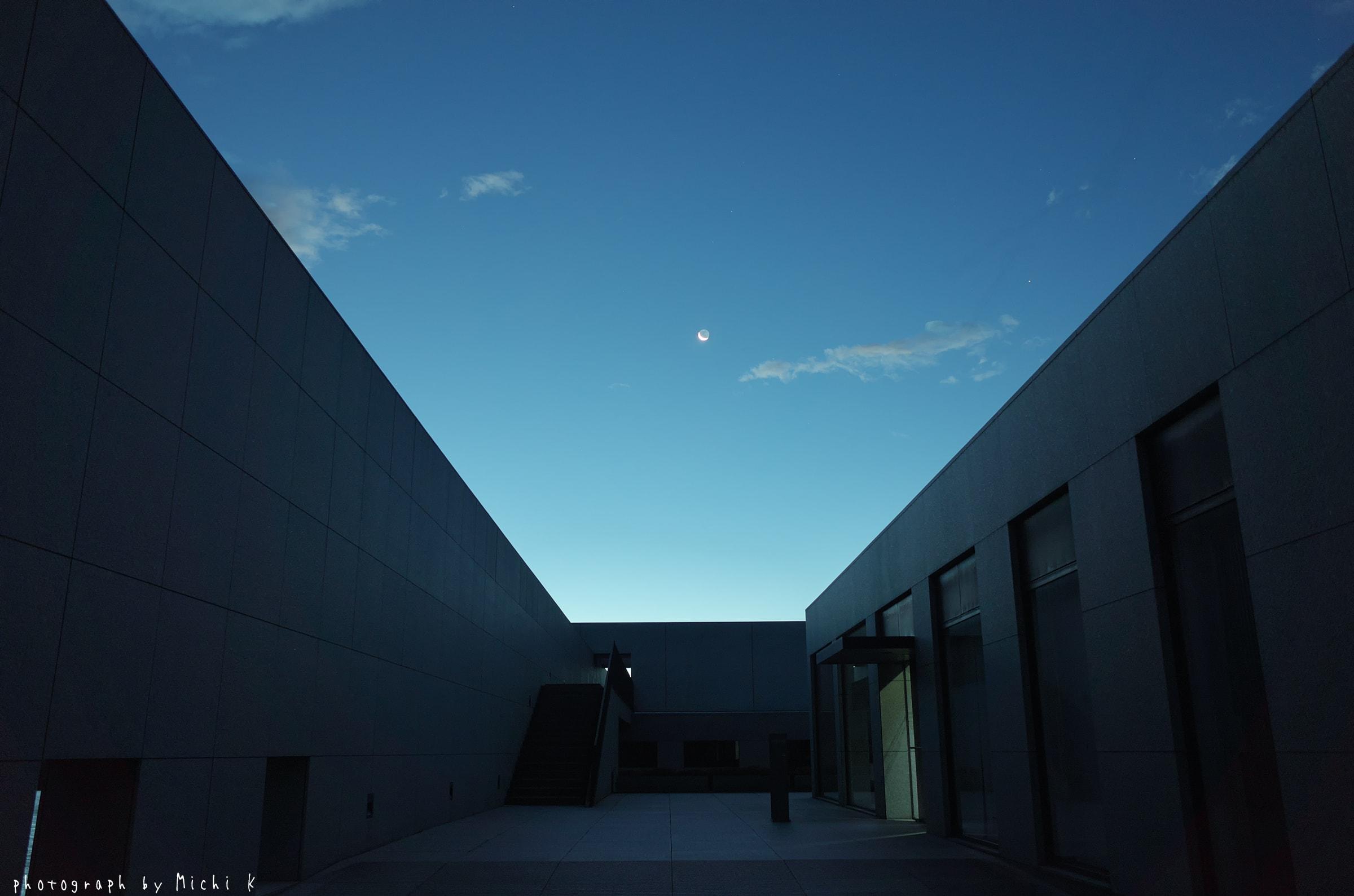 土門拳記念館2018-8-9夜明け前(写真その2)