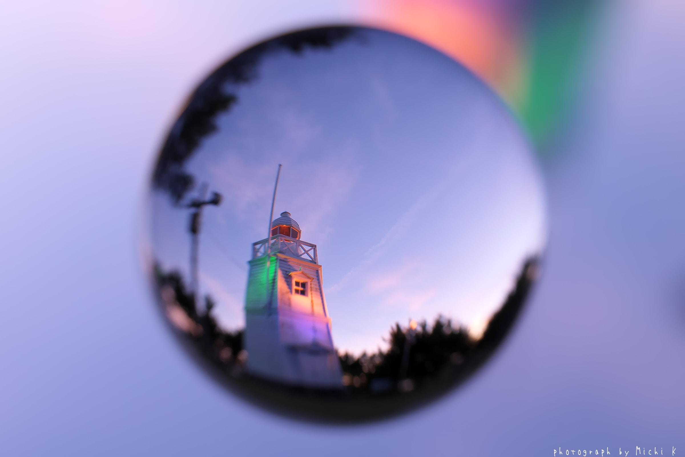 酒田市・日和山六角灯台♯35 soratama(写真その1)