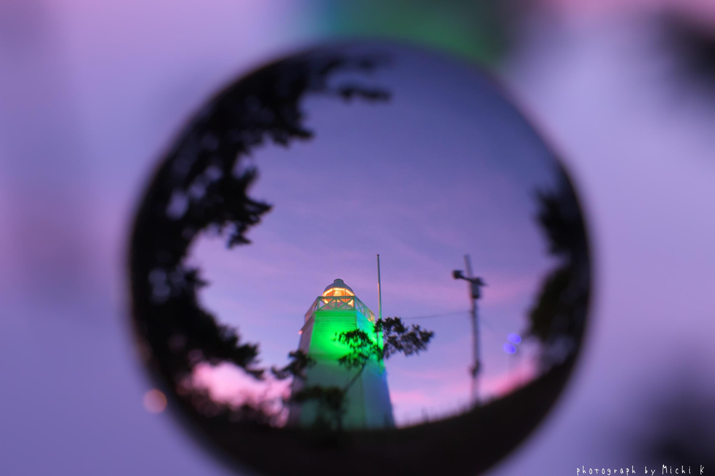 酒田市・日和山六角灯台♯35 soratama(写真その3)