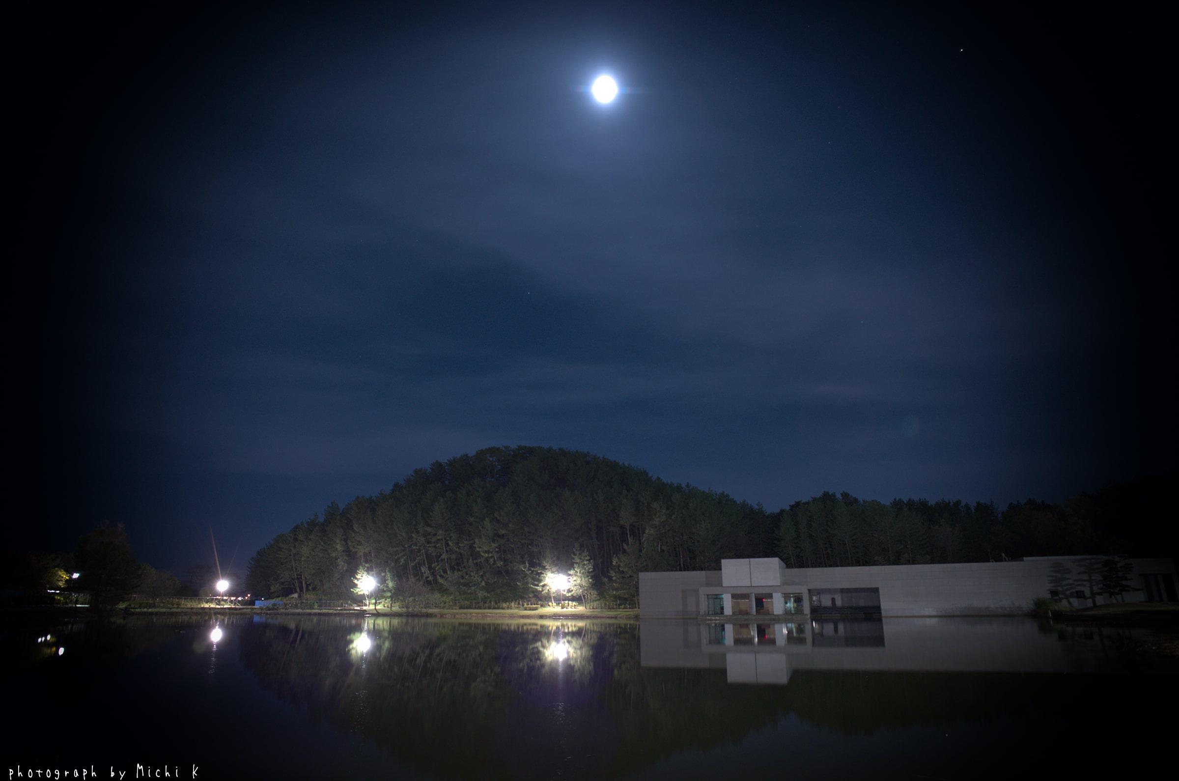 土門拳記念館にて2018-11-18夜(写真その1)