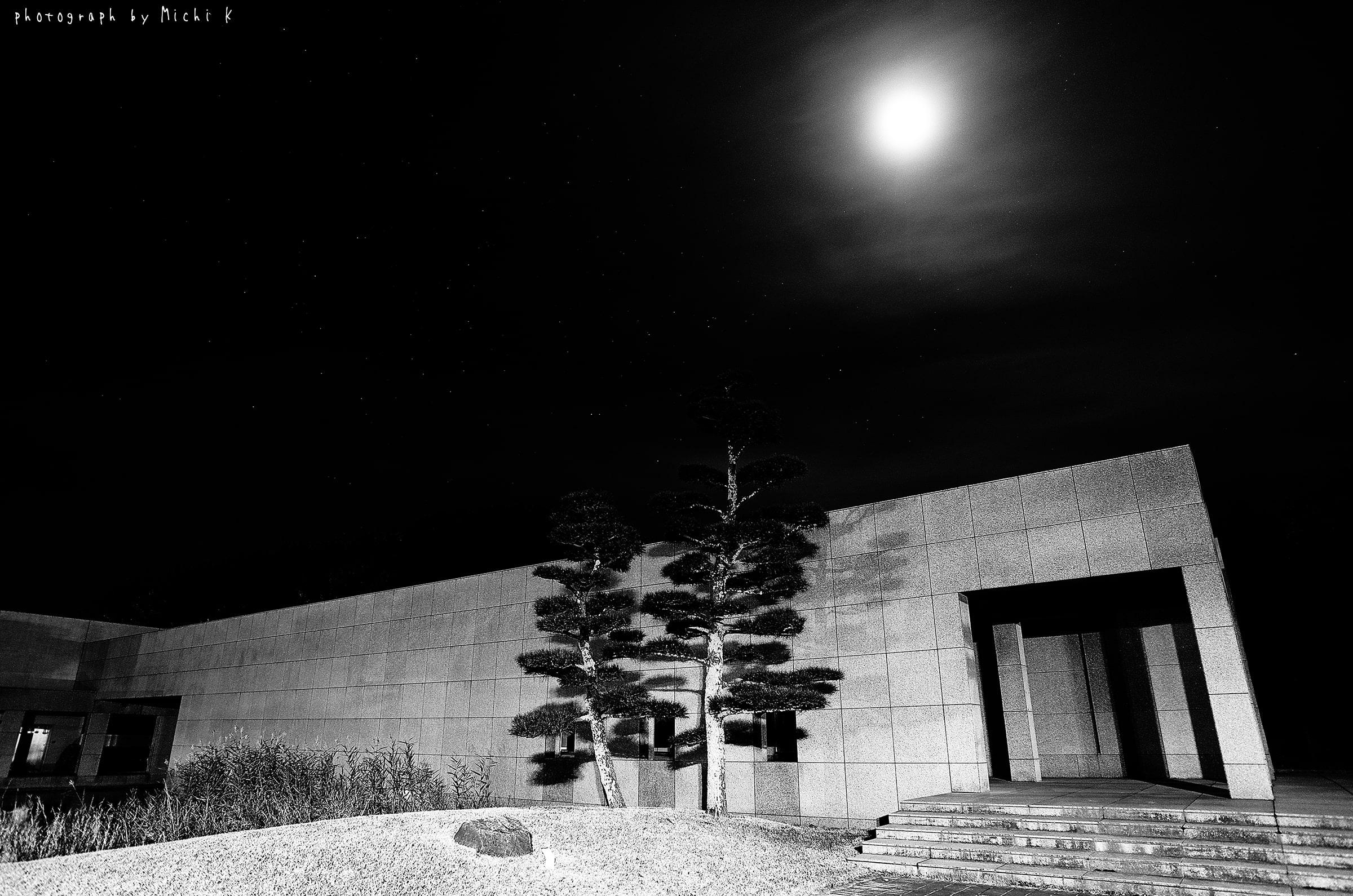 土門拳記念館にて2018-11-18夜(写真その2)