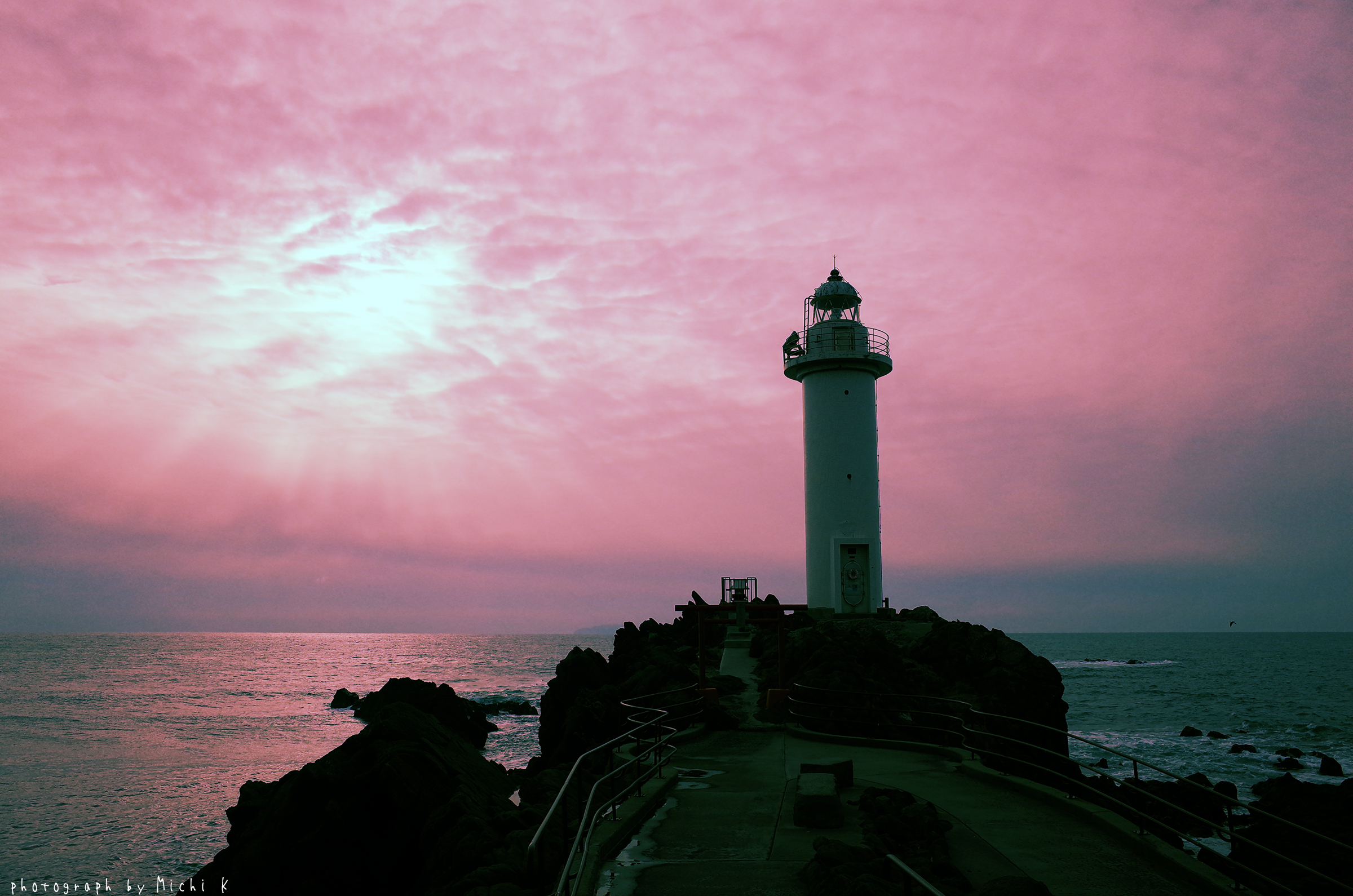 鼠ヶ関灯台(写真その2)