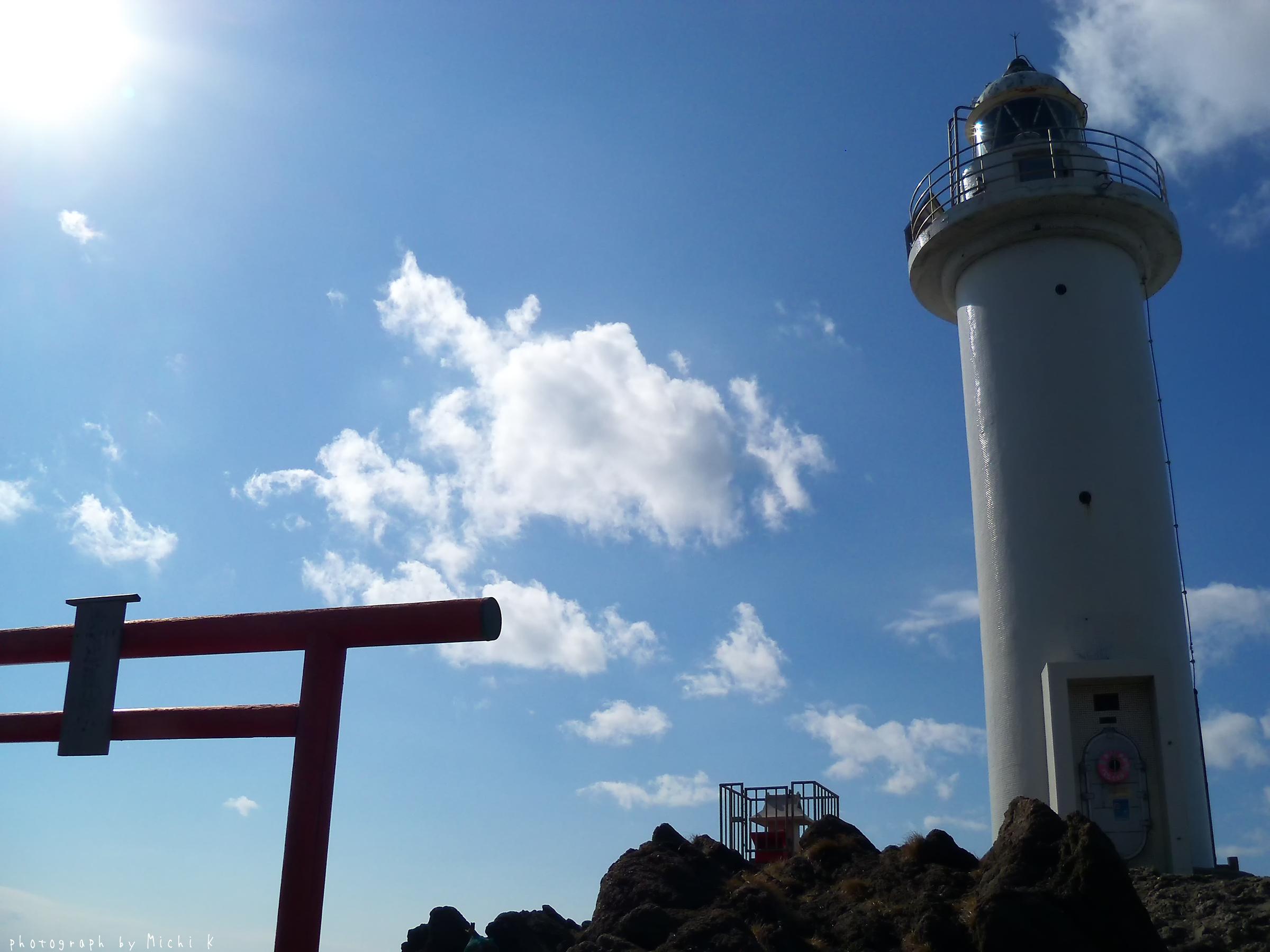 鶴岡市・鼠ヶ関灯台(写真その2)