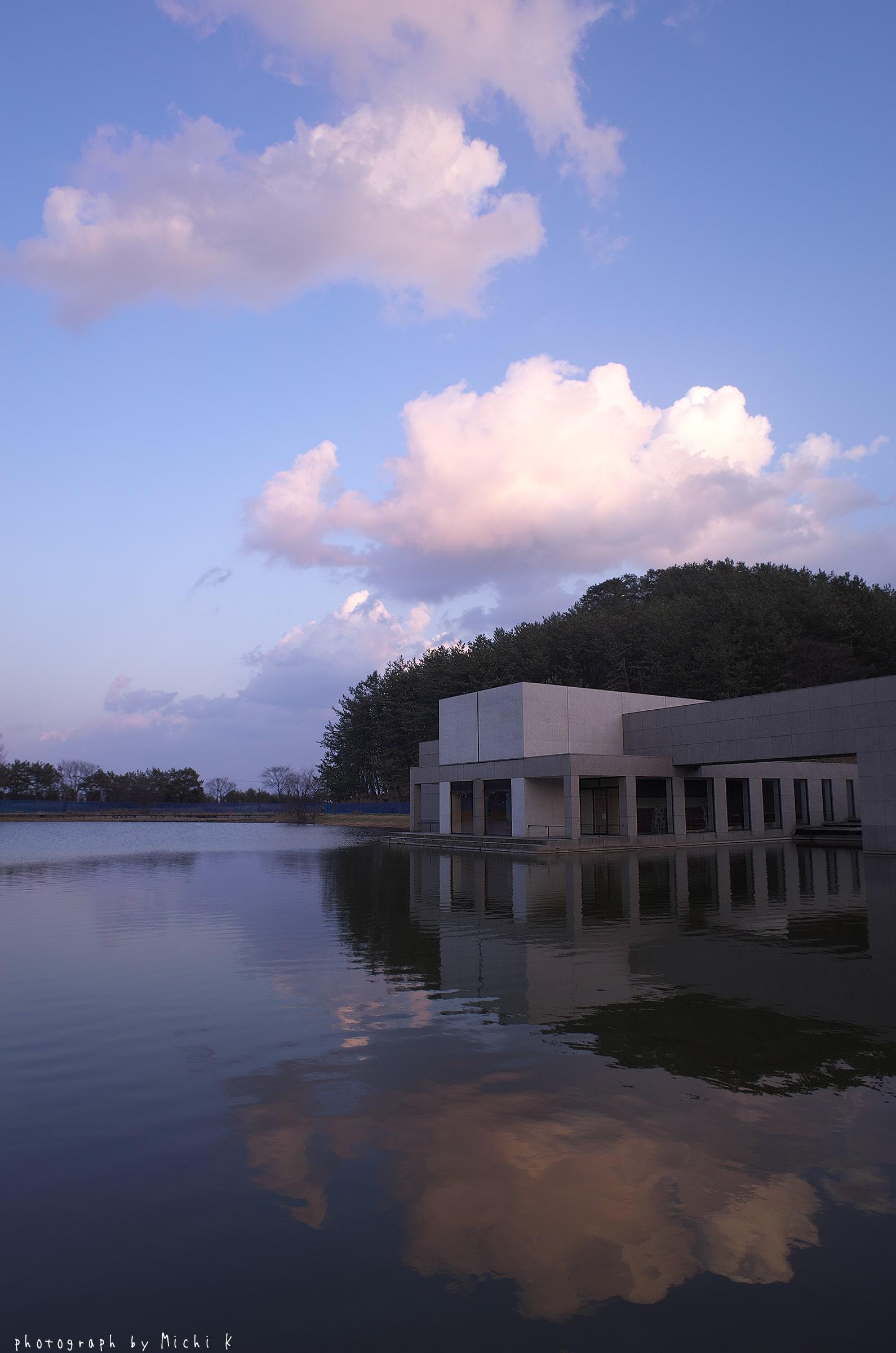 土門拳記念館にて2019-3-2夕方(写真その2)