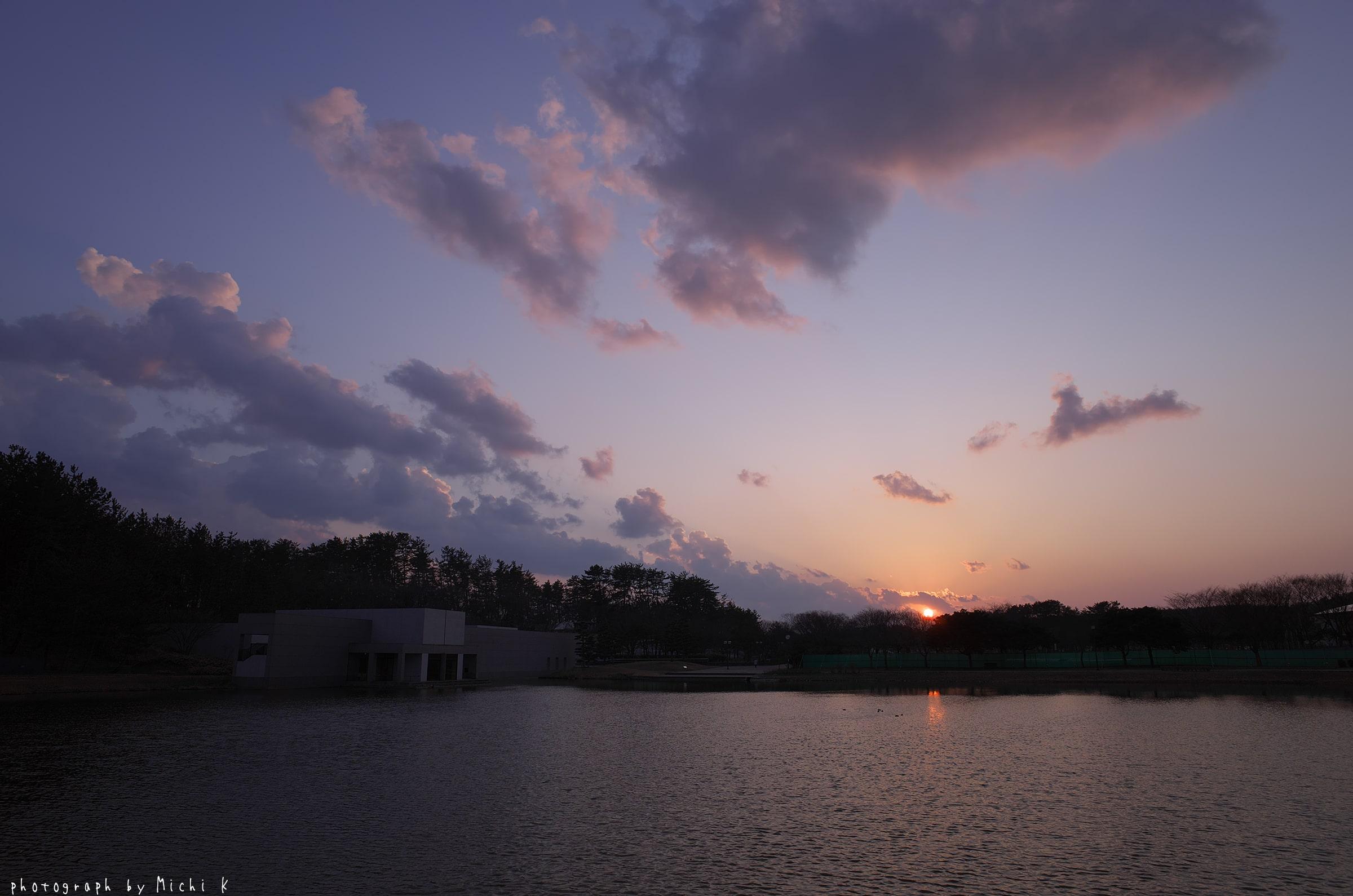 土門拳記念館にて2019-3-2夕方(写真その5)