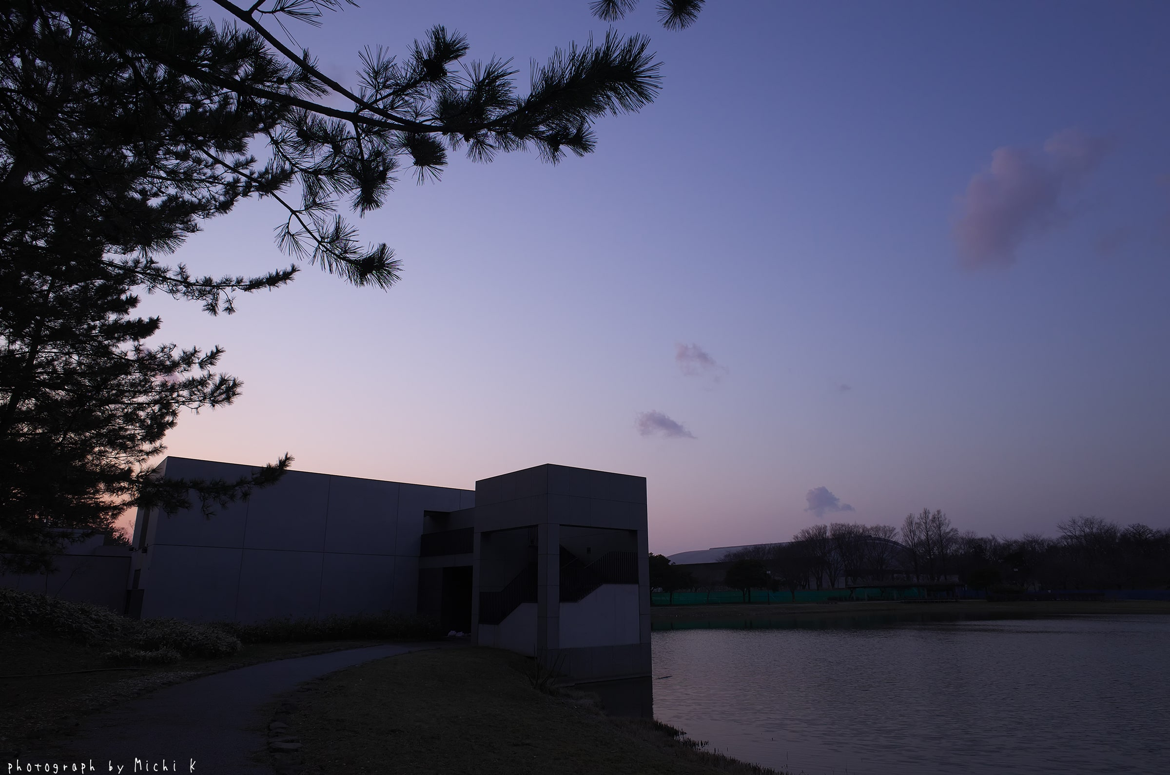 土門拳記念館にて2019-3-2夕方(写真その6)