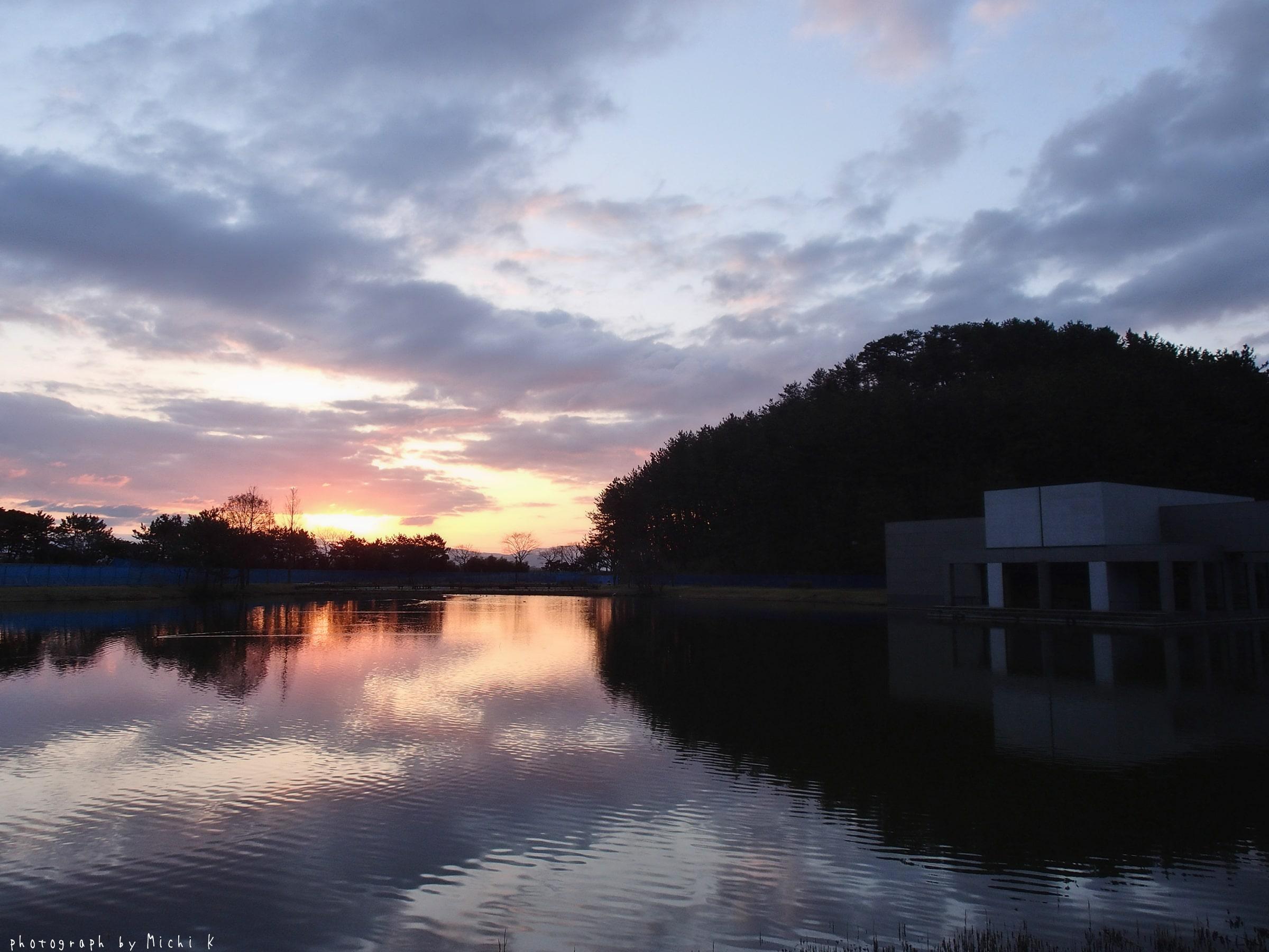 土門拳記念館にて2019-3-9朝(写真その1)
