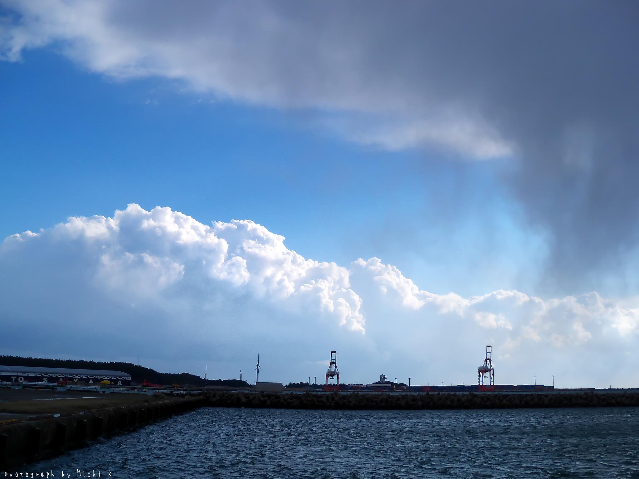 酒田市・北港(写真その1)