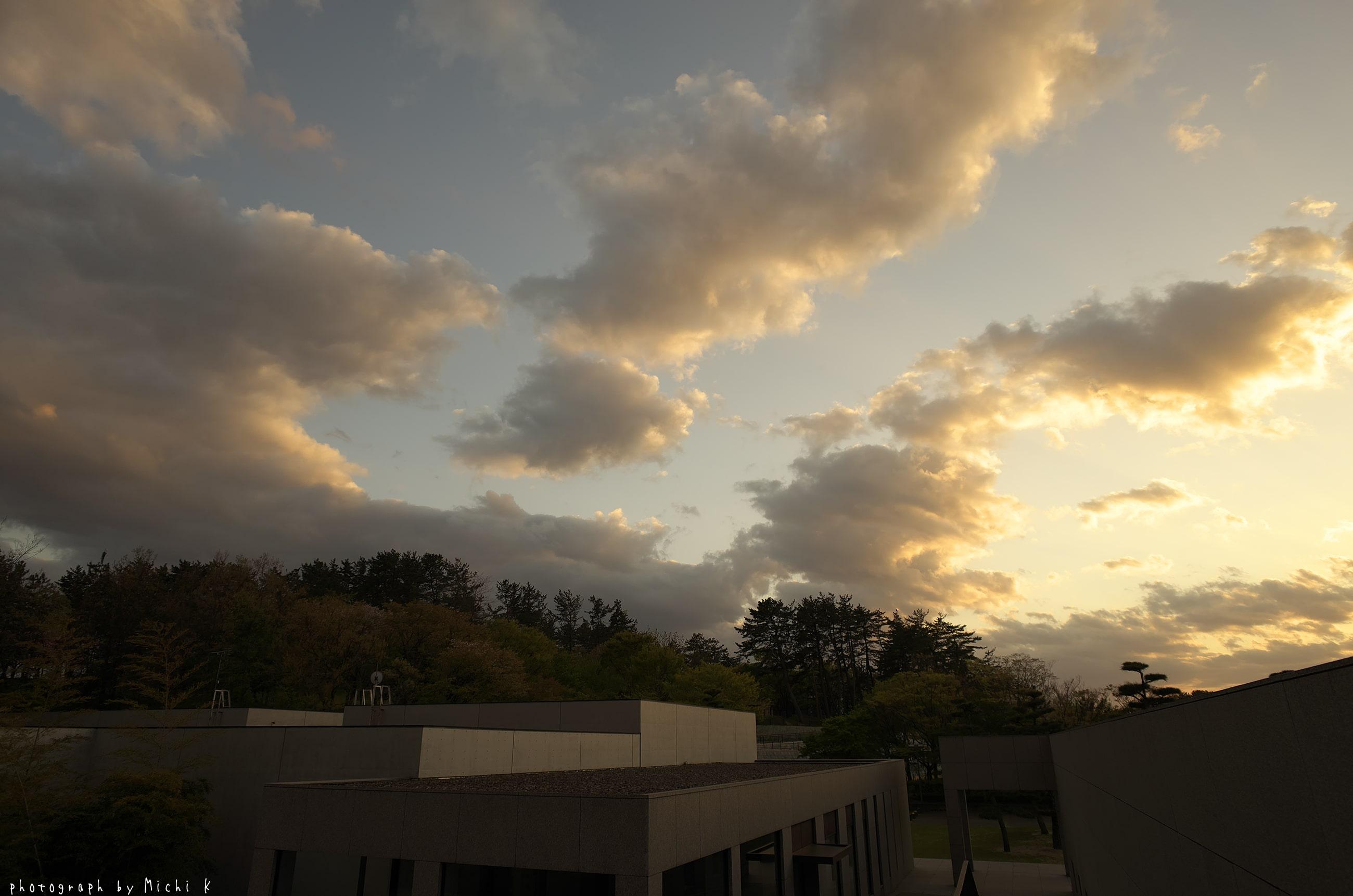 土門拳記念館2019-5-2 夕方(写真その1)