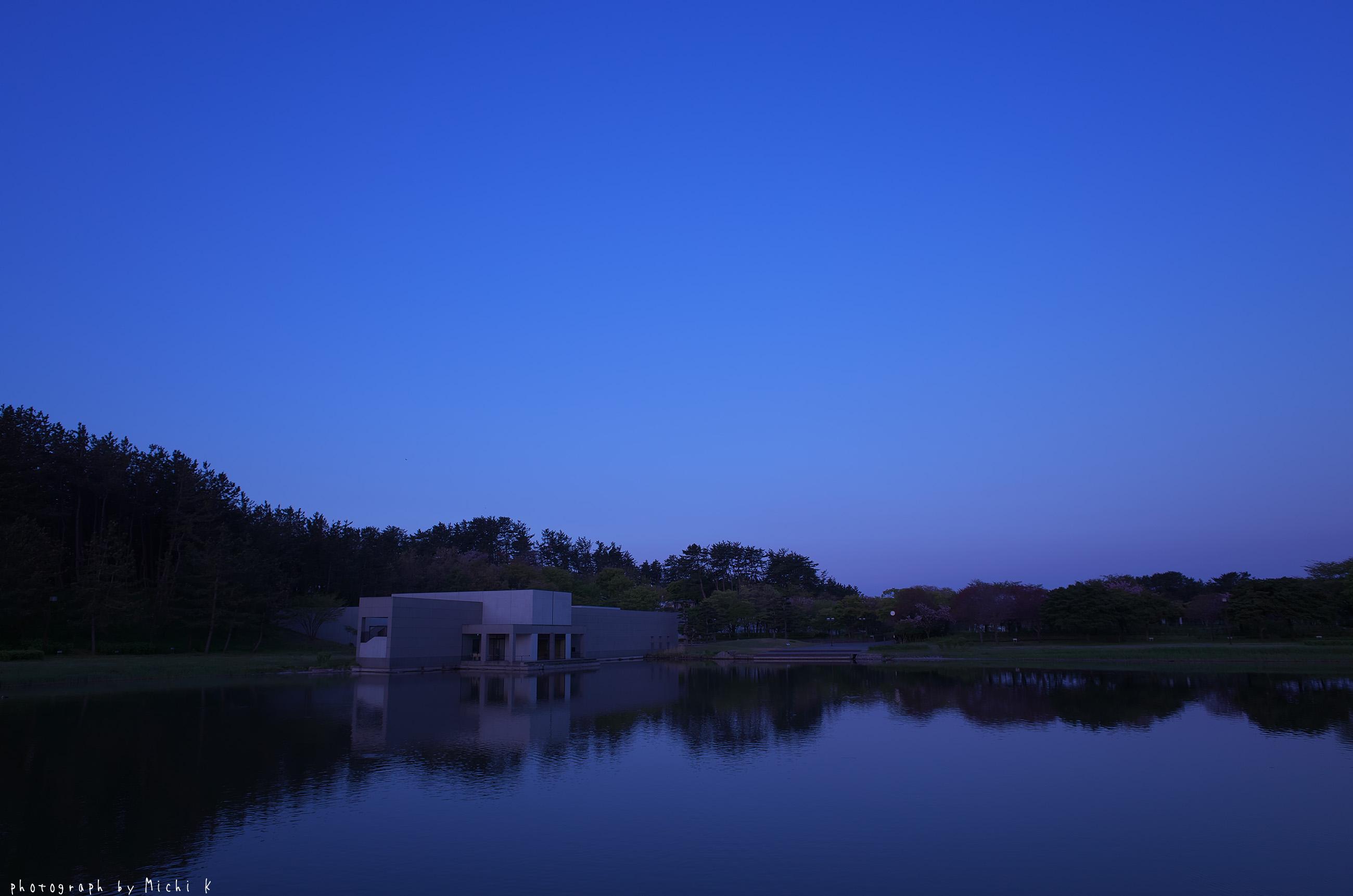 土門拳記念館2019-5-5夜明け前(写真その2)