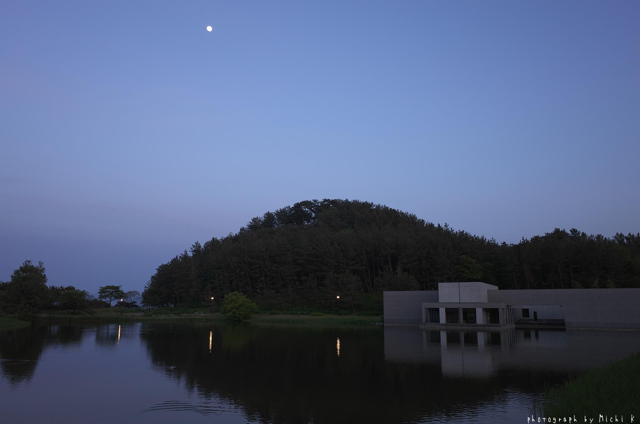 土門拳記念館2019-5-16日没後(写真その4)