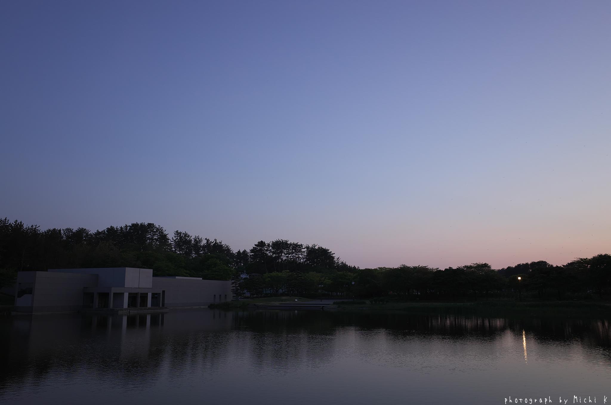 土門拳記念館2019-5-16日没後(写真その6)