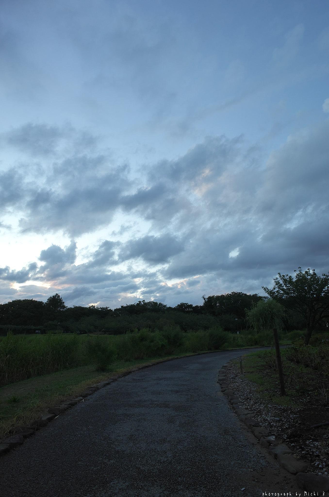 土門拳記念館2019-8-25夕方(写真その3)