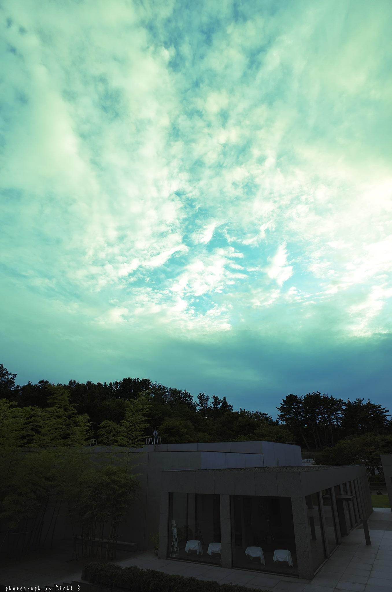 土門拳記念館2019-9-21夕方(写真その2)