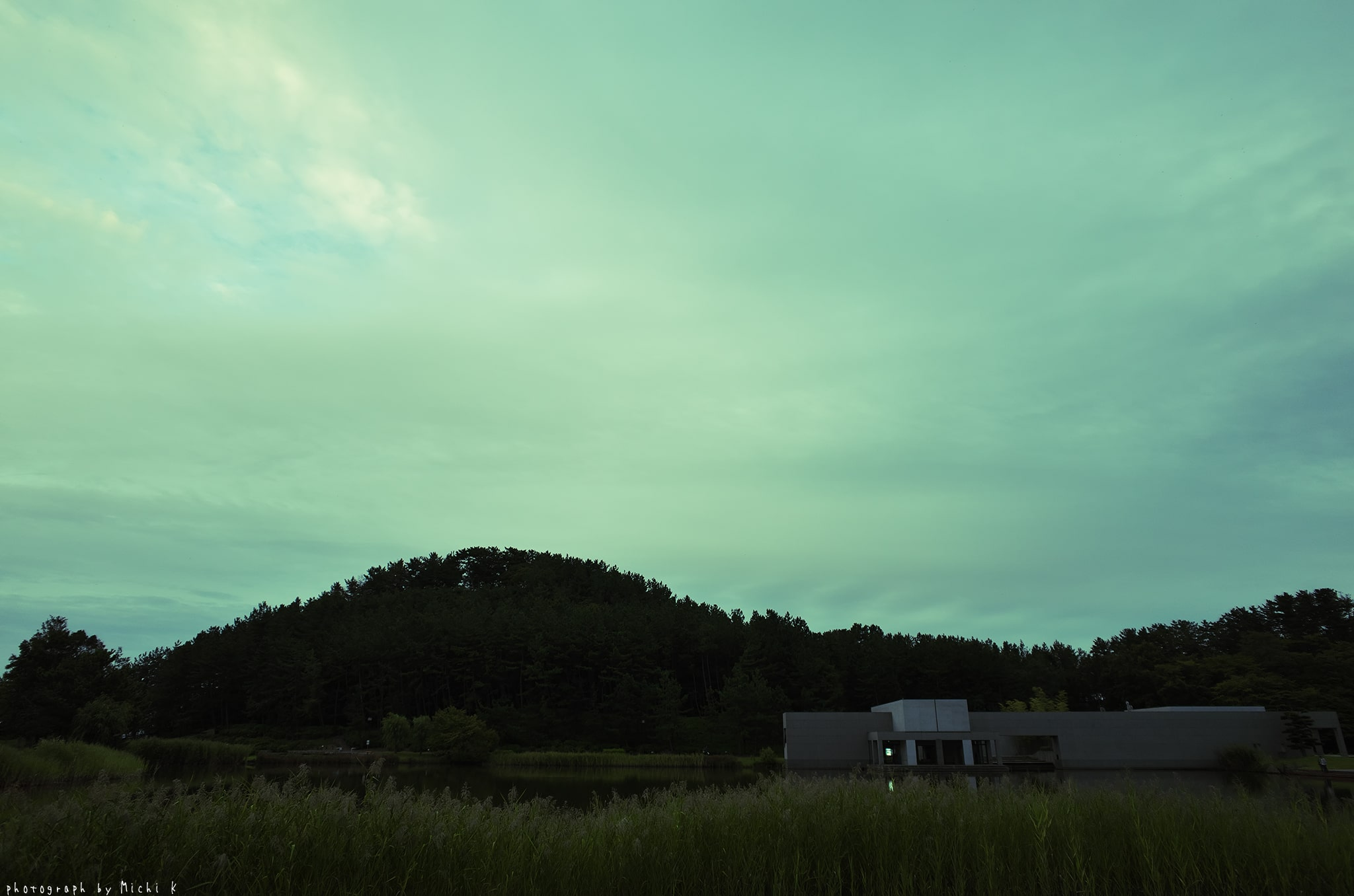 土門拳記念館2019-9-21夕方(写真その5)