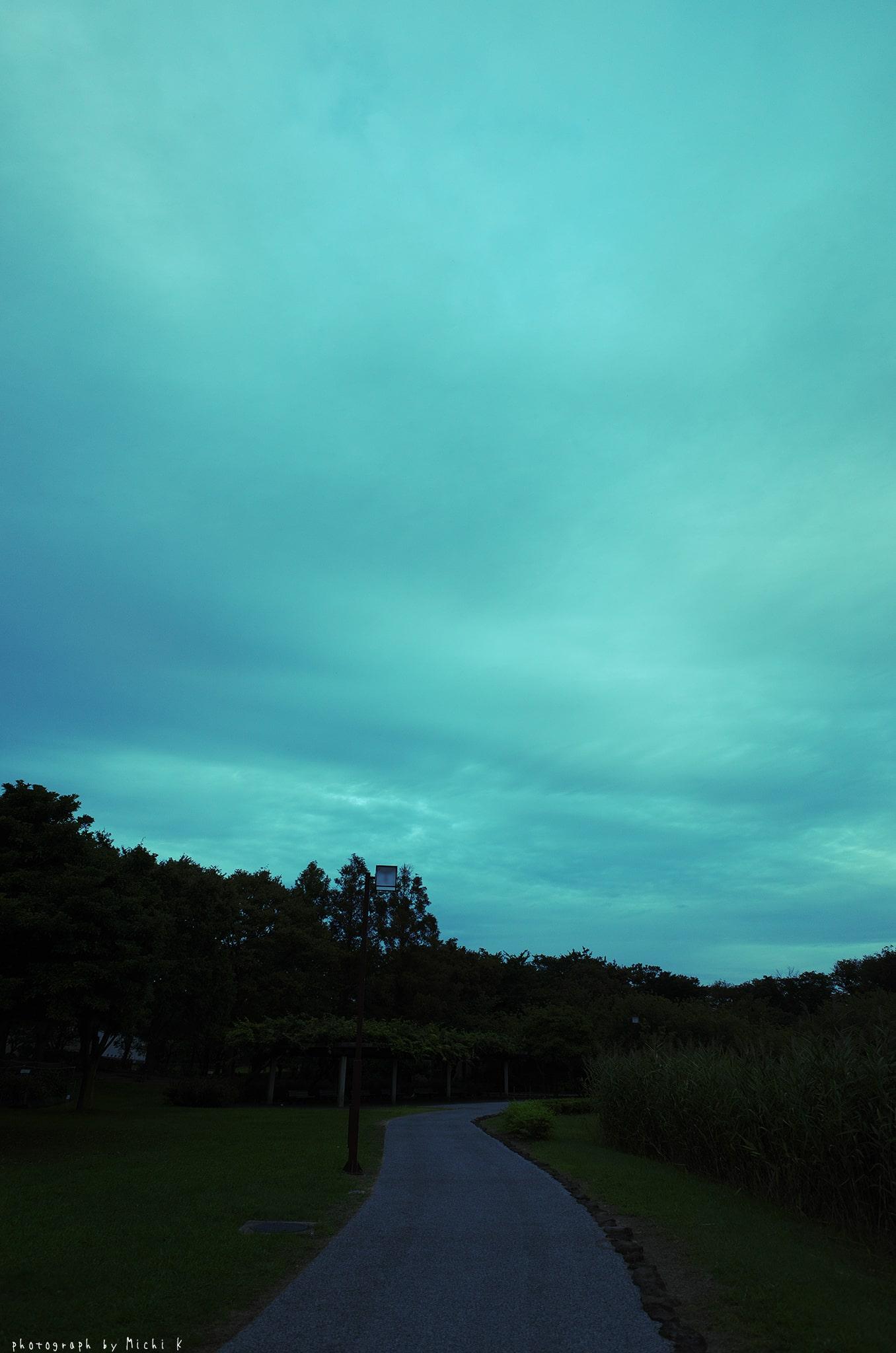土門拳記念館2019-9-21夕方(写真その6)