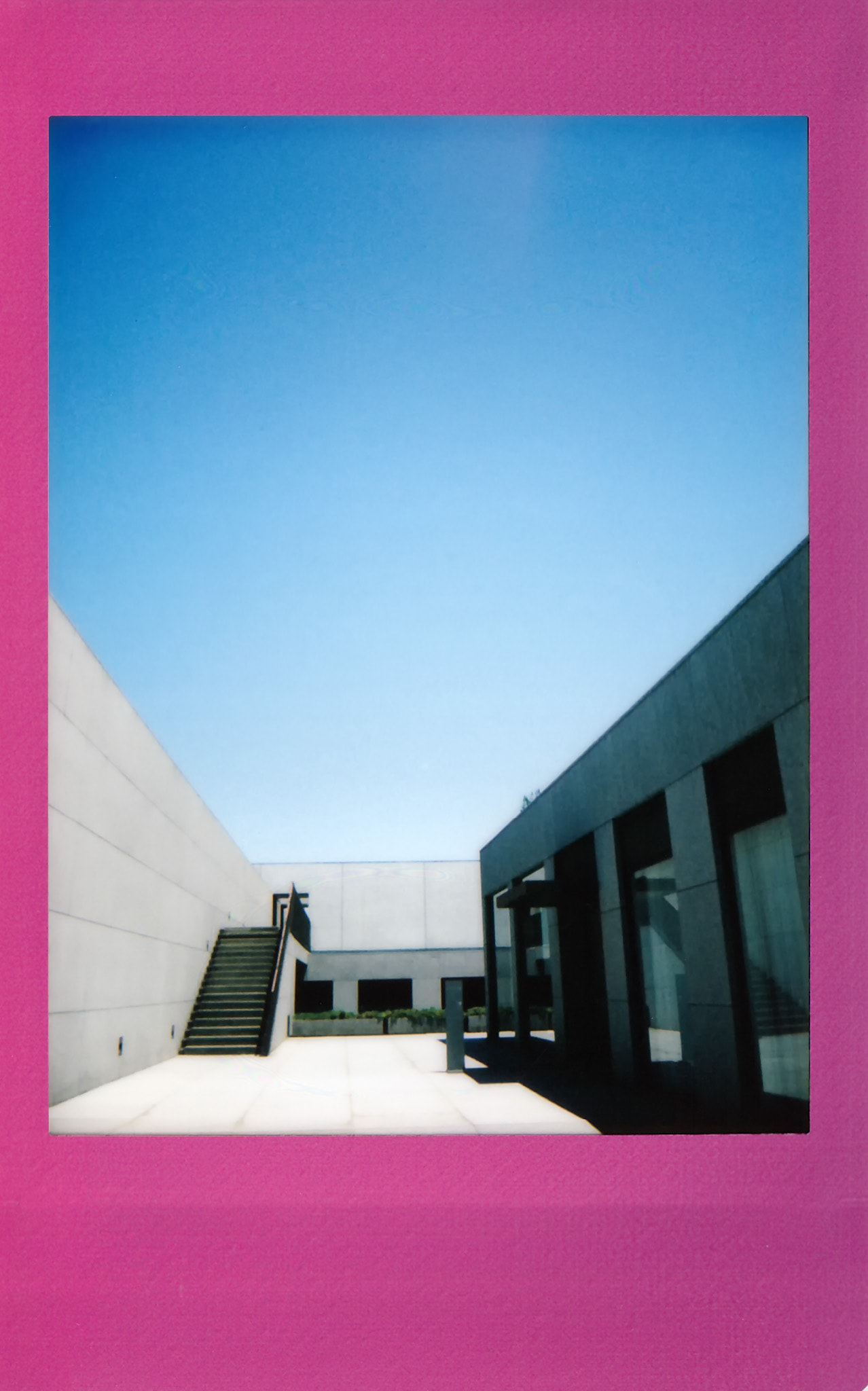 土門拳記念館にて2020-5-30 チェキフィルムにて撮影(その1)