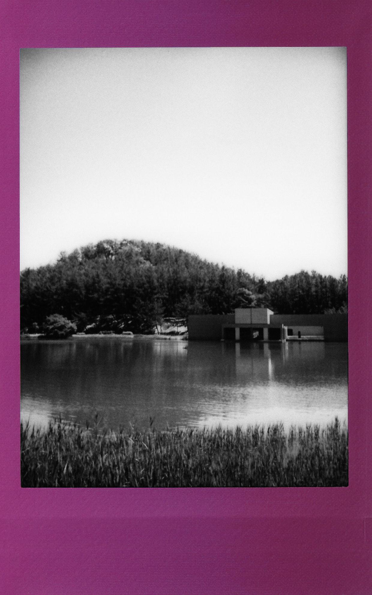土門拳記念館にて2020-5-30 チェキフィルムにて撮影(その5)