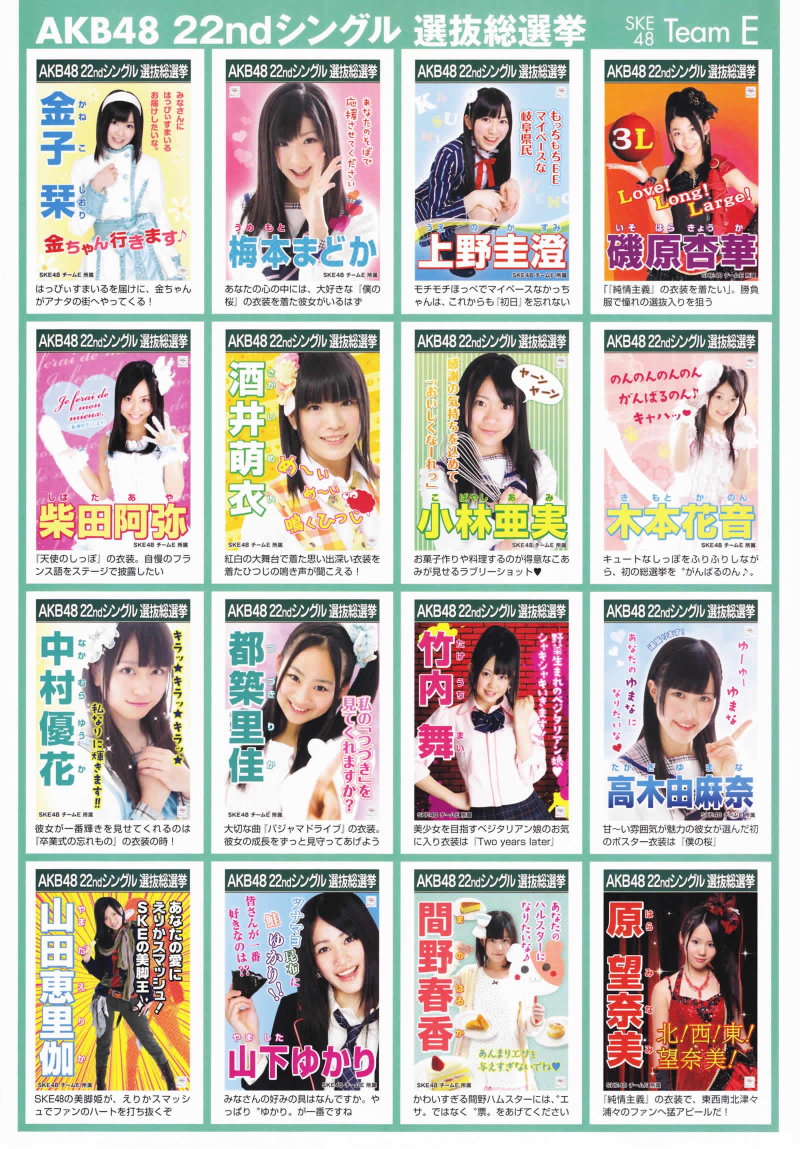 AKB48 22ndシングル選抜総選挙ポ...