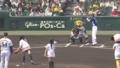 [NMB48]松田栞,太田里織菜,肥川彩愛(NMB48)始球式@阪神甲子園球場