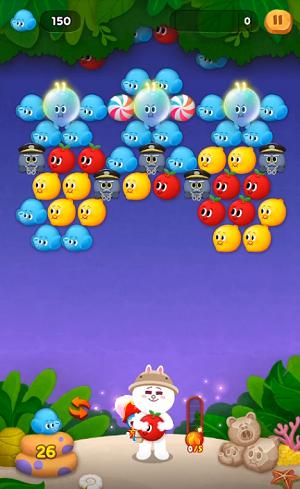 攻略 ライン バブル 2