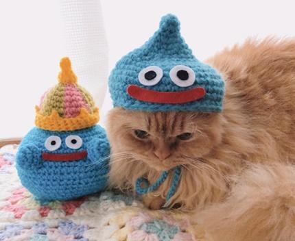 スライムネコ帽子