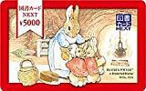 全国共通 図書カード ラビット 5000円分