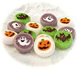 かぼちゃ・ゴースト・コウモリの細工飴 ハロウィンキャンディ100粒入