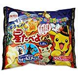 栗山米菓 100g ハロウィン ポケモン 星たべよ しお味(1個売り)
