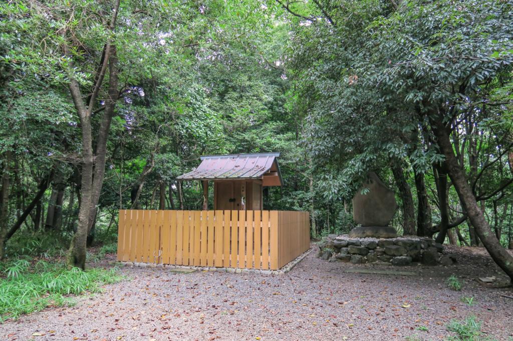氷上姉子神社・元宮