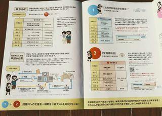神奈川県学費補助金資料