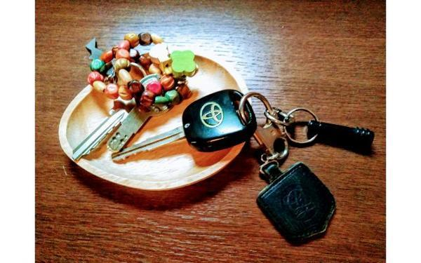 家と車の鍵