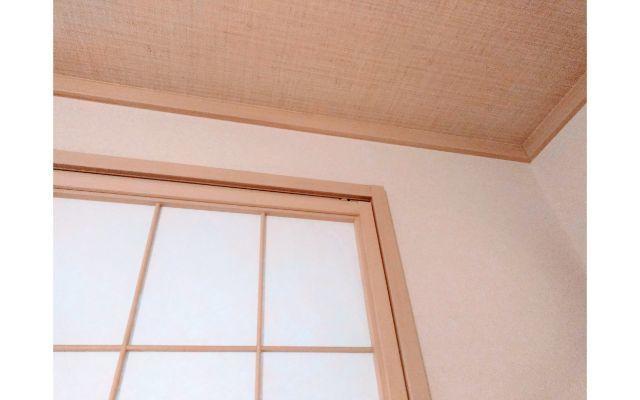 和室の壁と天井の様子