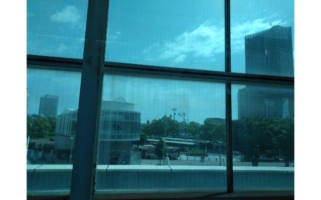 桜木町駅からの眺め