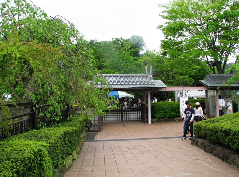 横須賀しょうぶ園 入口