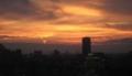 浅草の夕焼け