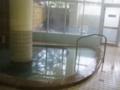オロフレ荘の浴室