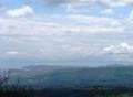 クマ山から室蘭、噴火湾、 駒ヶ岳
