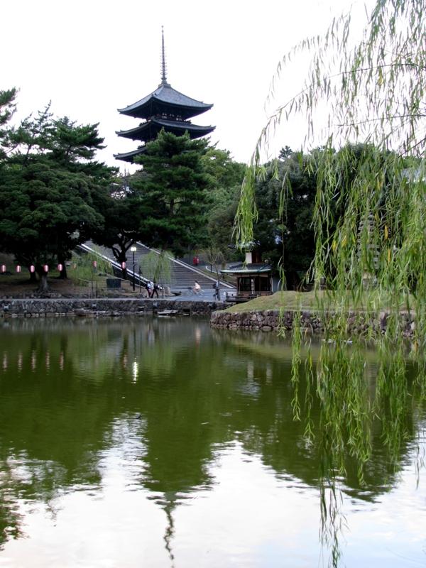 猿沢の池と五重塔