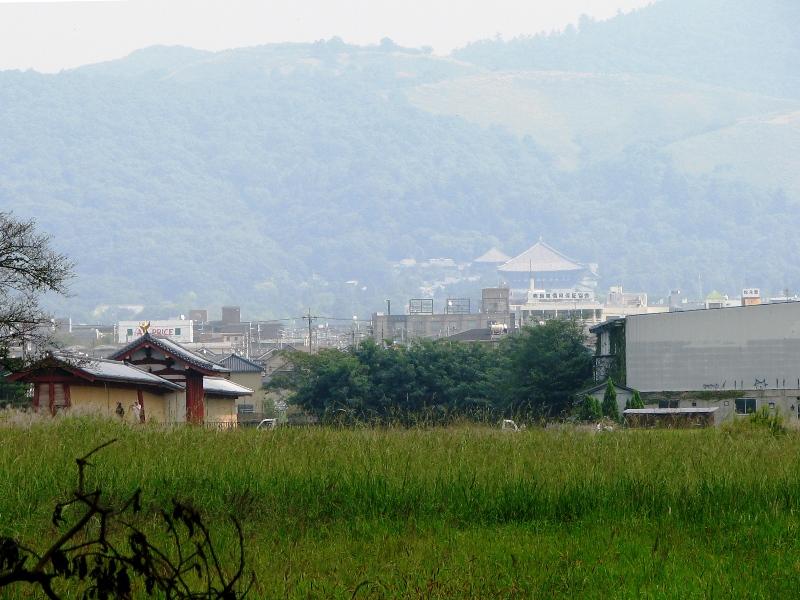 東大寺方面眺望